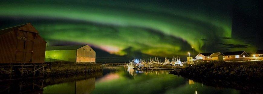 aurora boreale lofoten - biosfere itinerari