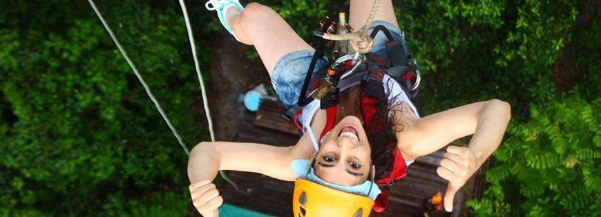 Chiang Mai zipline - Grazie a Claudia :)